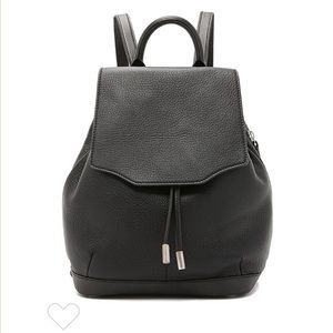 Rag & Bone Pilot Backpack Black Leather